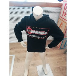 WR-Wheels Kids Pulli mit Kapuze, Name und Nummer