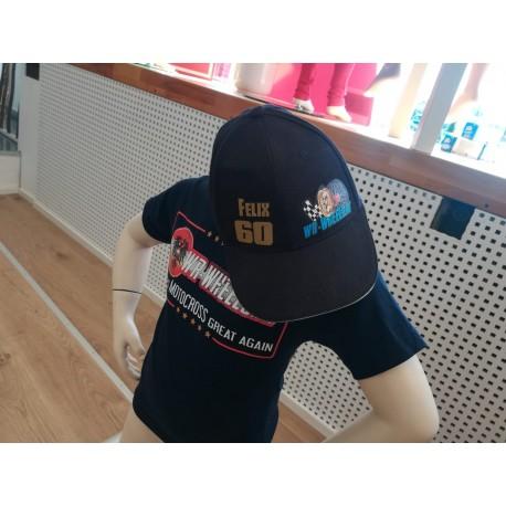 WR-Wheels Kids CAP mit Name und Nummer